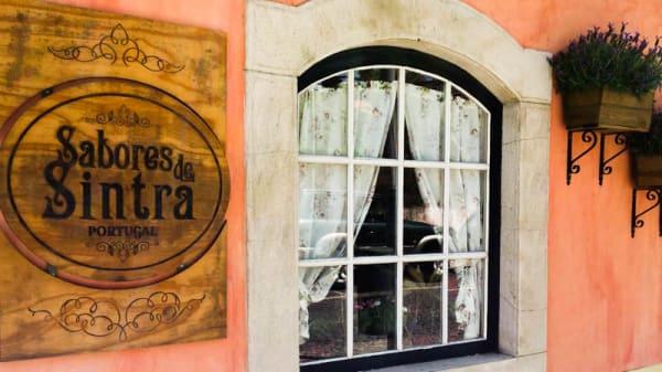 entrada principal - logo - Sabores de Sintra, Sintra