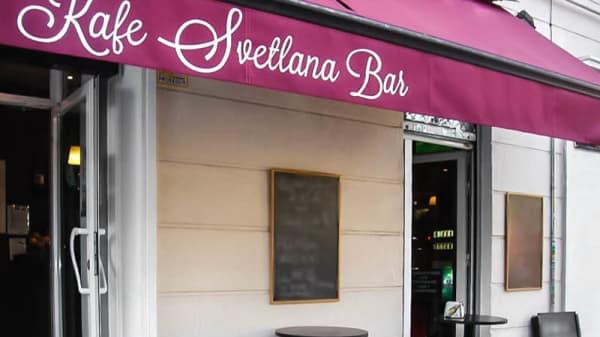 entrada - Kafe Svetlana, Madrid