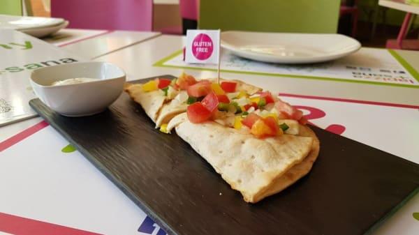 Sugerencia del chef - Lapizza+sana - Barquillo, Madrid