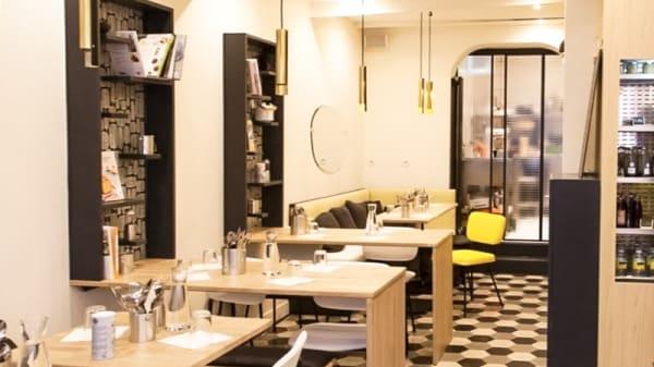 Salle du restaurant - Health Inside, Paris