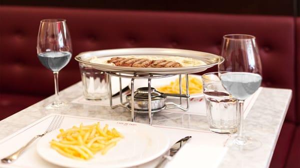 Sugerencia del chef - L'Entrecote Café de París - Puerto Banus, Marbella