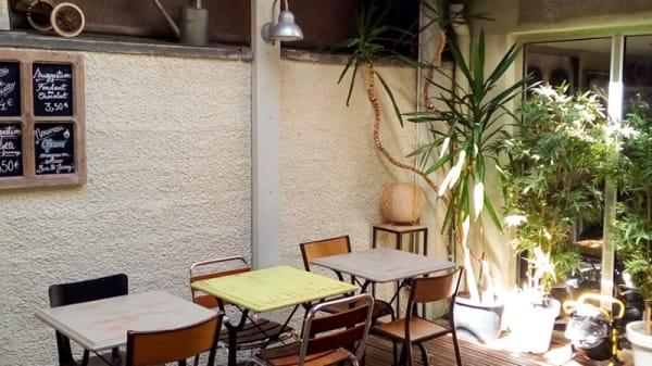 Terrasse - Le QG, Dieppe