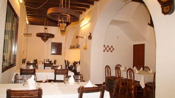 La sala - Molí de Xirles, Polop