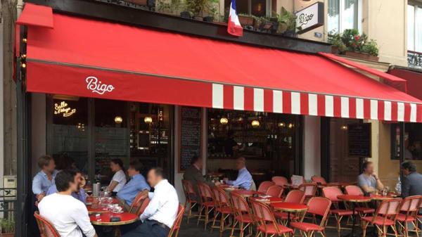 Vue de la terrasse - Le Bigo, Paris