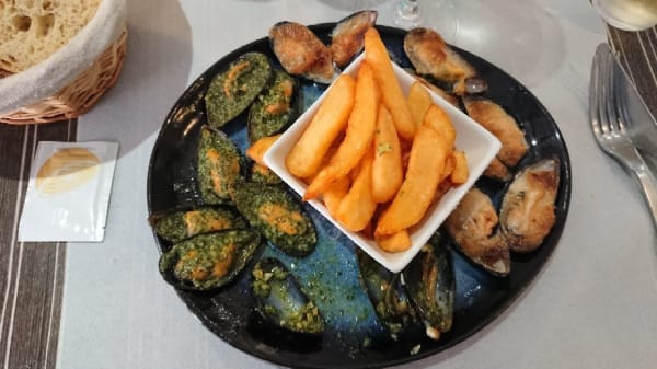 Suggestion de plat - l'Escale Bleue, Collioure