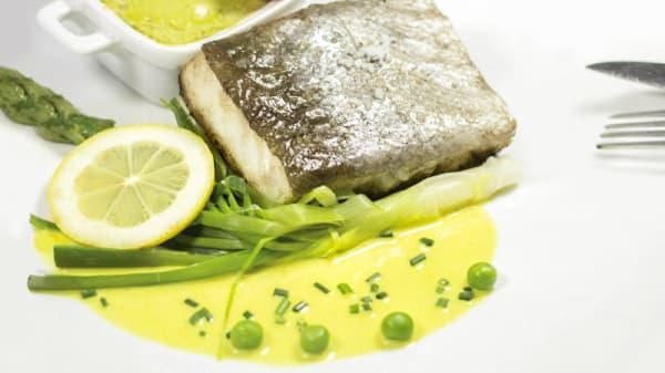 Plat de poisson - Le Stadant, Juan-les-Pins