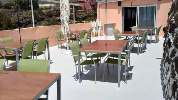 Terraza - Bodegon La Caldera, Santiago Del Teide