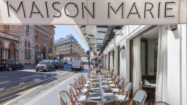 Terrasse - Maison Marie, Paris