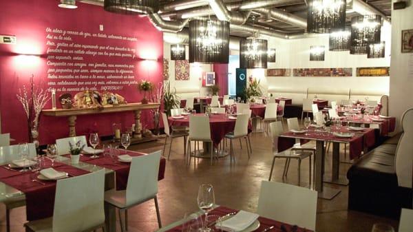 Sala del restaurante - Espacio Carchel, San Sebastián de los Reyes