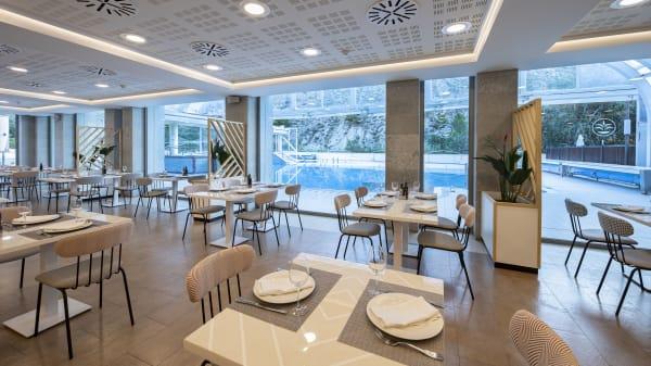 Interior del restaurante - Restaurante del Agua - Balneario de Archena, Archena