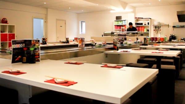 vue de la salle - J'M Sushi, Brussels