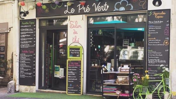 Entrée - Le Pré Vert, Montpellier