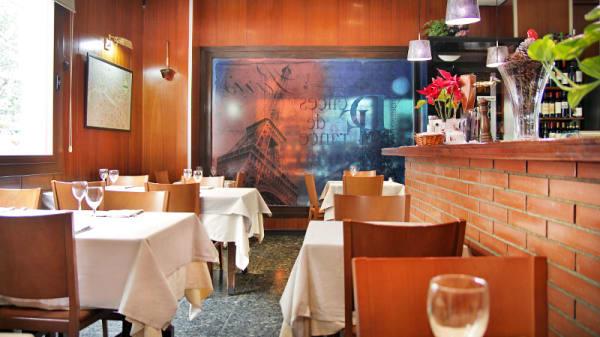 vista interior - Las Delicias de Francia, Barcelona