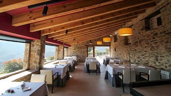 Vista sala - Hotel Can Cuch, Canoves