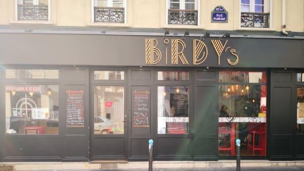 devanture - Birdy's, Paris