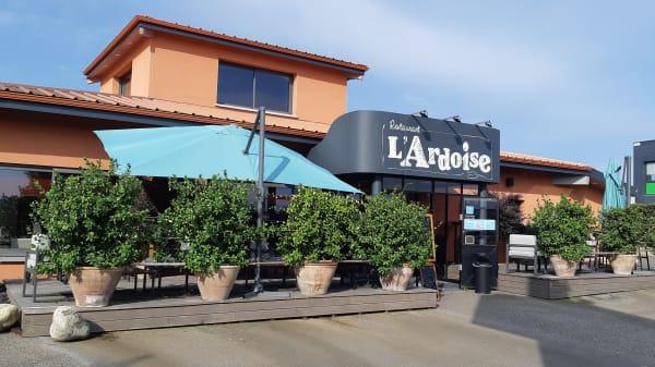 Façade du restaurant - L'Ardoise, Montauban
