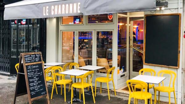 Terrasse - Le Charonne, Paris