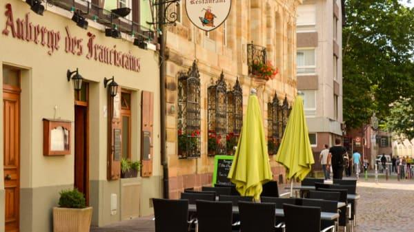 Entrée - Auberge des Franciscains, Mulhouse
