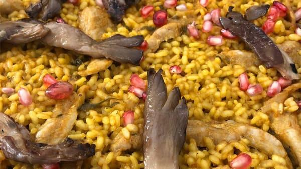 Sugerencia del chef - Arrocería Varadero, Mezquitilla