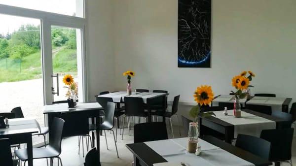 Vista sala - Taverna del Gallo Sibillino, Montegallo