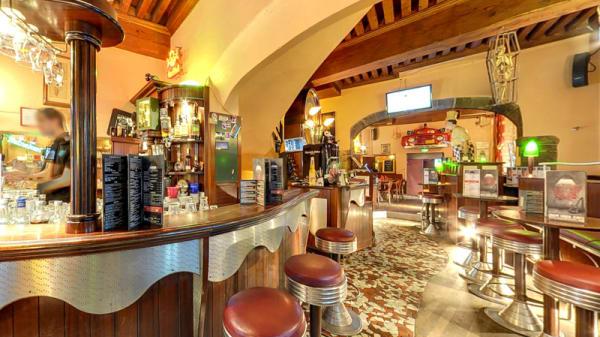 Salle du restaurant - Eden Rock, Lyon