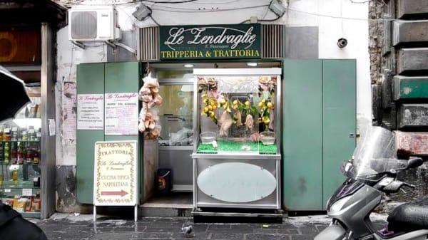 esterno - Le Zendraglie, Napoli