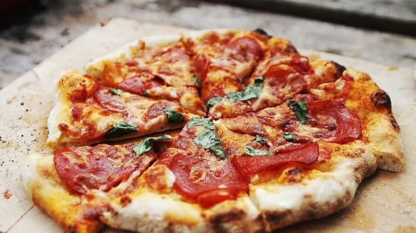 Pizza - The Olive Branch Cafe, Balhannah (SA)