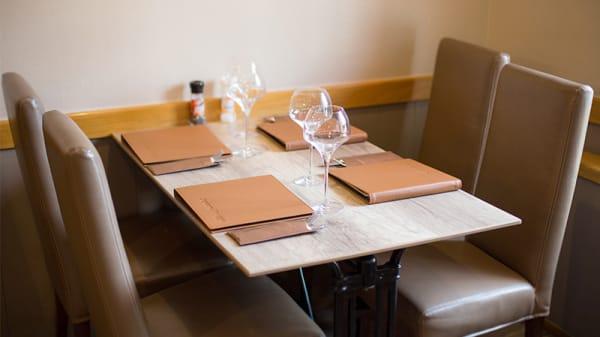 Table dressée - Aquarel, Bruges