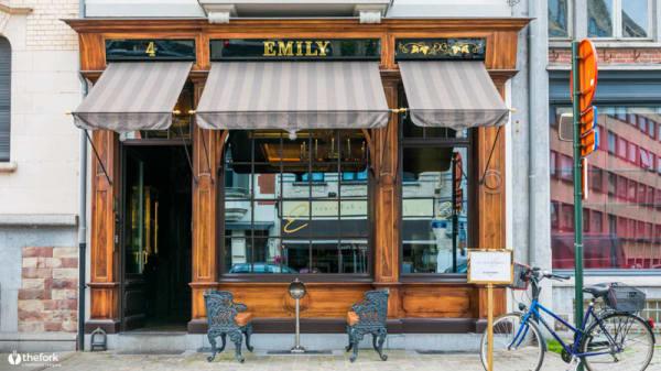 Devanture - La Villa Emily, Bruxelles