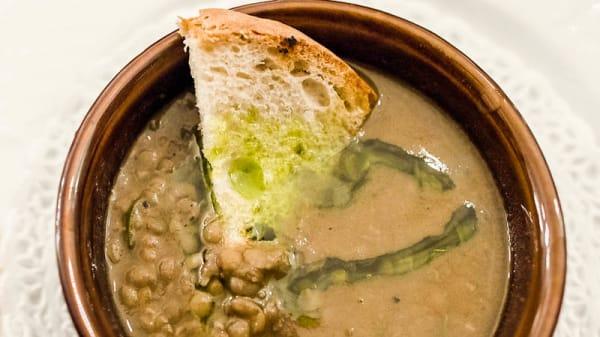 zuppa di legumi - Ristorante Da Angelo, Foligno