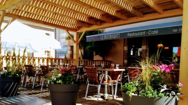 exterieur - Le Bistroquet, Lagrave