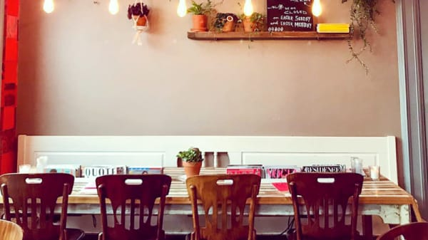 Restaurant - Dwaze Zaken, Amsterdam