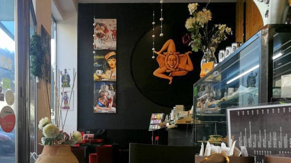 Interno - Café Trinacria, Siracusa