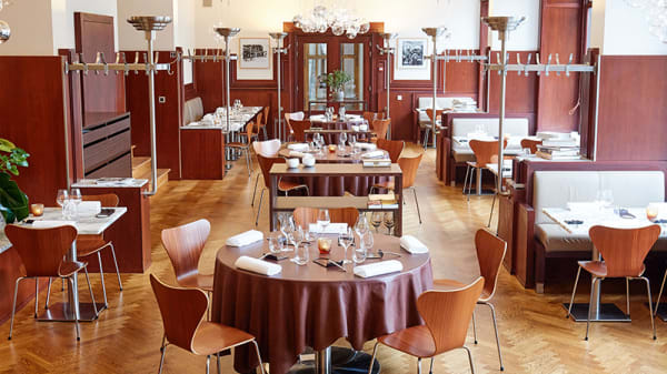 Salle - Bozar Restaurant, Bruxelles