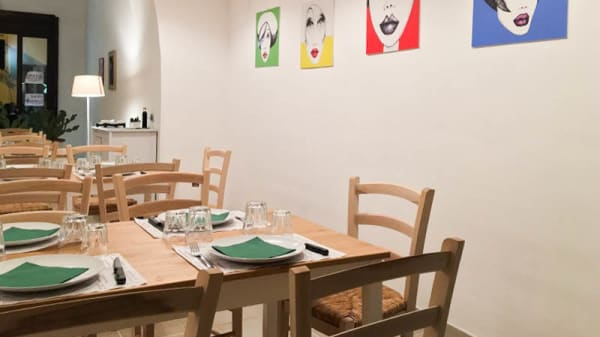 Sala del ristorante - Abbunnanzia, Noto
