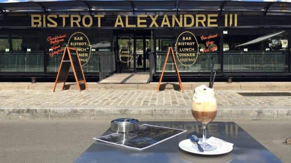 Devanture - Bistrot Alexandre III, Paris