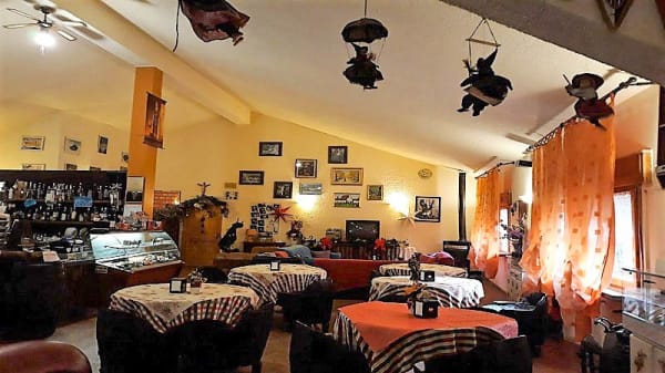 Vista sala - Rifugio Biancaneve, Balze