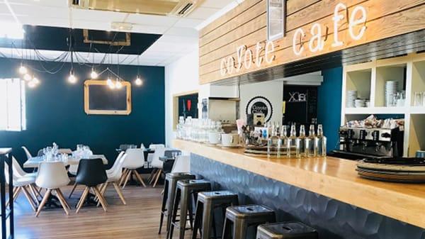 Vue de la salle - Coyote Club Café, Vallauris