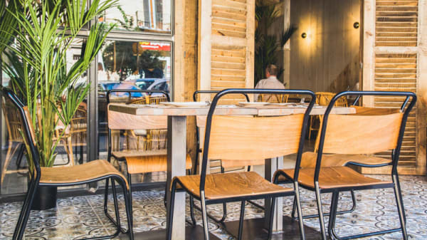 Sala - Chitón Mediterranean Food, Sevilla