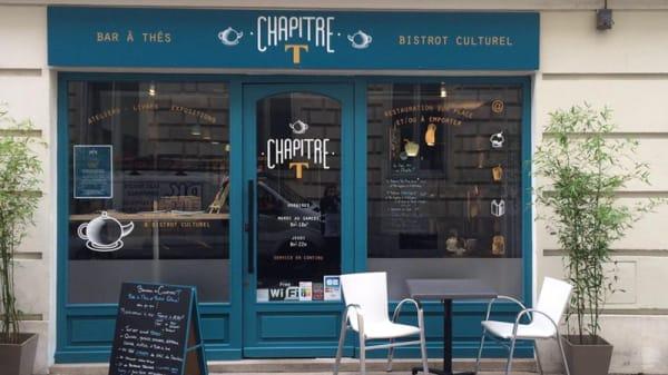 Devanture - Chapitre T, Nantes