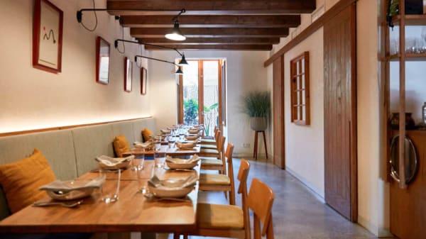Vista de la sala - La Gormanda, Barcelona