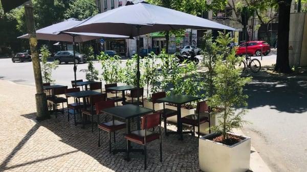 Esplanada - Taska da Avenida, Lisboa
