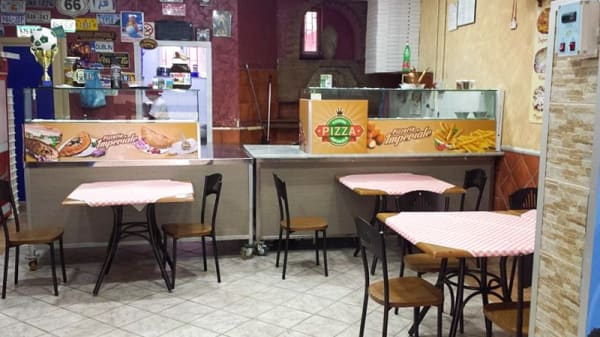 Sala - Pizzeria Imperiale, Formia