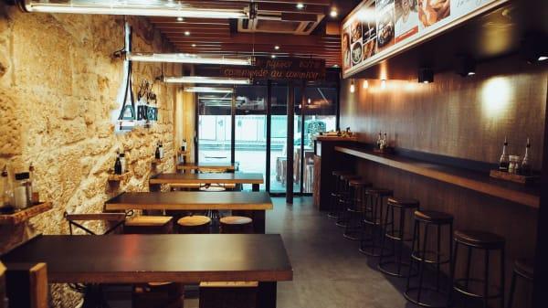 Vue du Bar  - L'Artisan du Burger - Forum des Halles, Paris