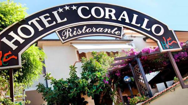 Veduta dell esterno - Corallo, Pomonte