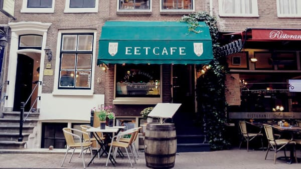 Ingang - Eetcafé Kop van Jut, Amsterdam