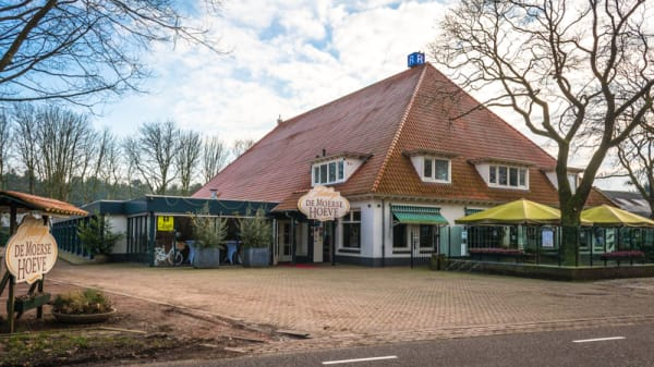 Het restaurant - Auberge de Moerse Hoeve, De Moer