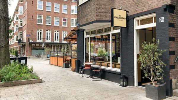 Ingang - Vascobelo Aalsmeerweg, Amsterdam