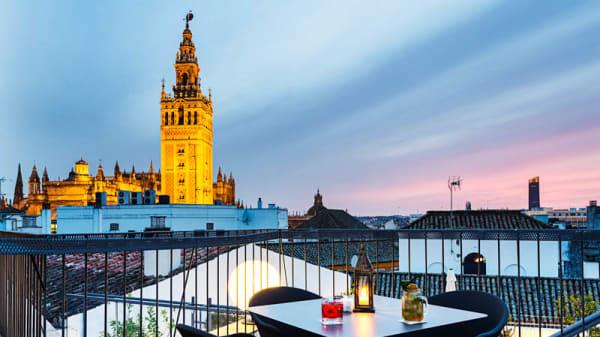 Vista terraza - Morrison´s - Eurostars Sevillla Boutique, Sevilla