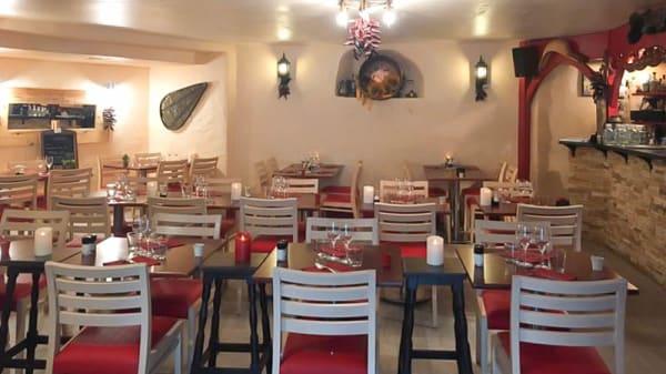 Salle du restaurant - L'Étable, Biarritz